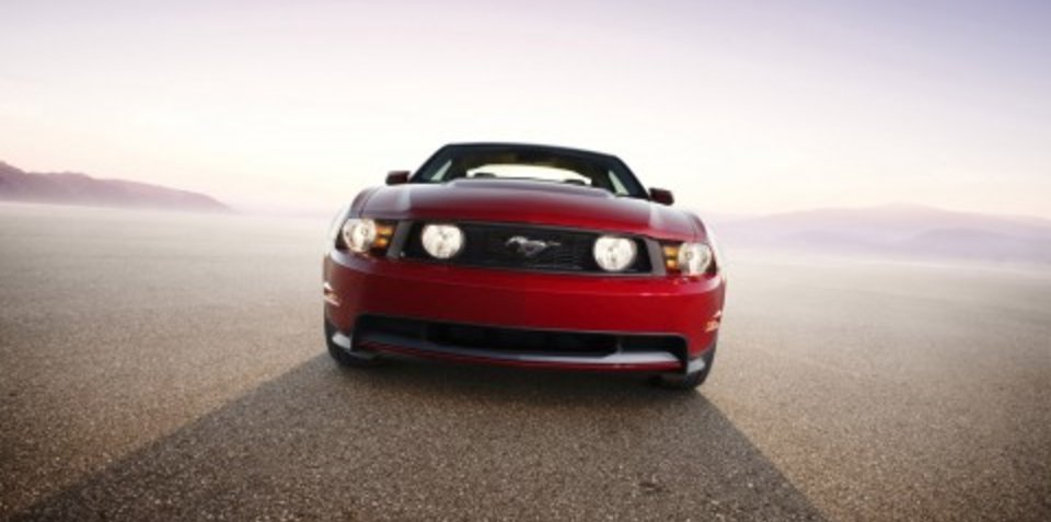 2010 Ford Mustang early debut