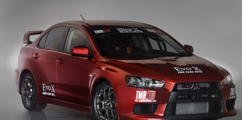 Mitsubishi Lancer Evolution TMR Club-Spec