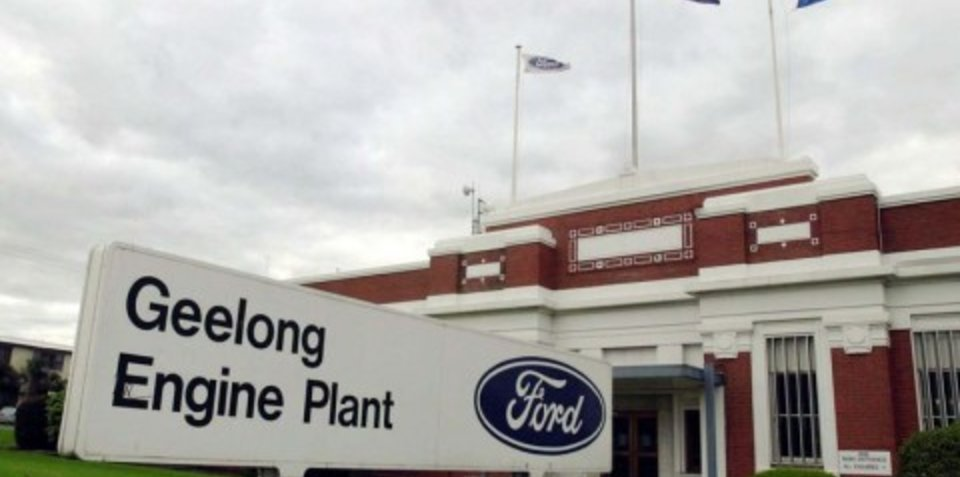 Ford Engine Plant in Geelong to Stay