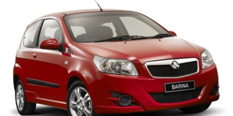 Holden Barina achieves four-star ANCAP rating