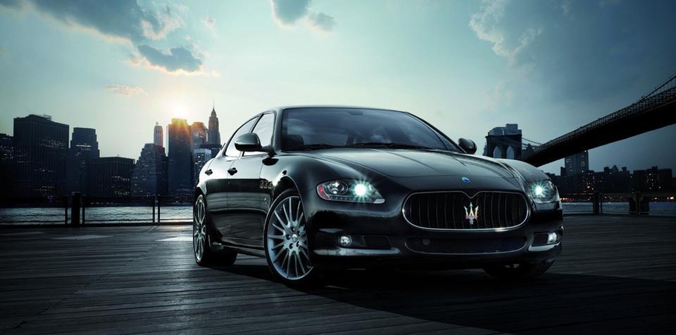 Maserati Quattroporte Sport GT S for NAIAS