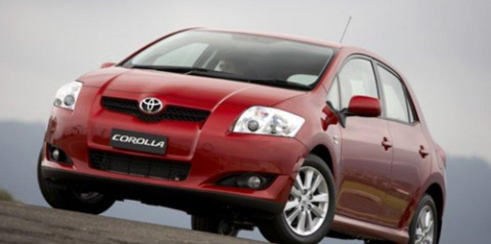 Toyota Australia adds VSC to Corolla