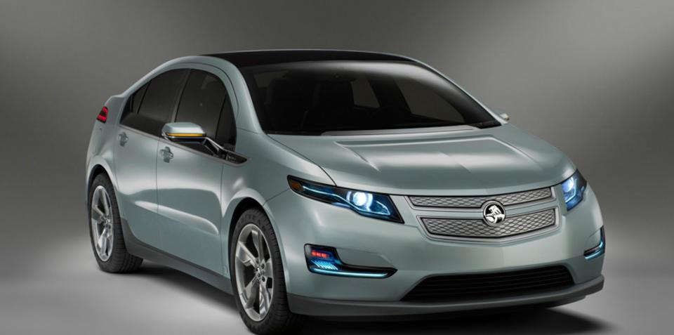 2012 Holden Volt official images at MIMS