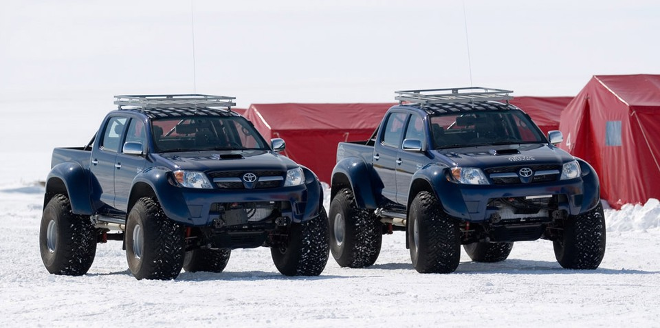 Arctic Trucks HiLux conquer South Pole