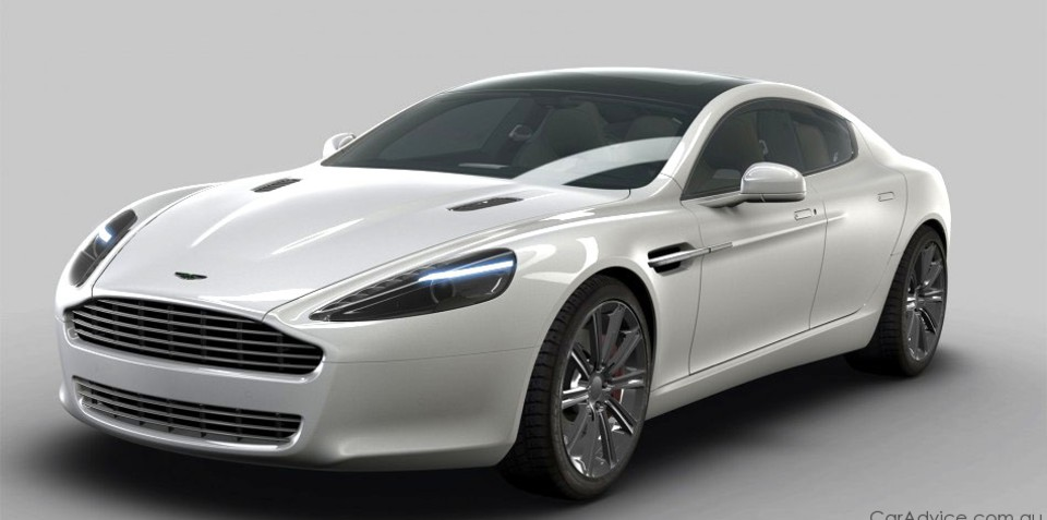 2010 Aston Martin Rapide official images
