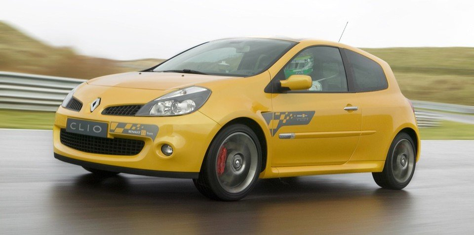 2009 Renault Clio Sport F1 Team R27 at MIMS