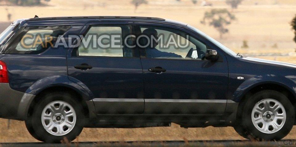 Ford Territory diesel testing in full swing
