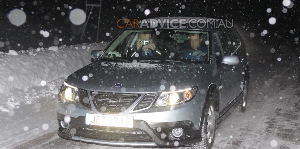2009 Saab 9-3X off-road wagon spied