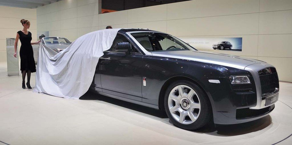 Baby Rolls-Royce officially named the Ghost