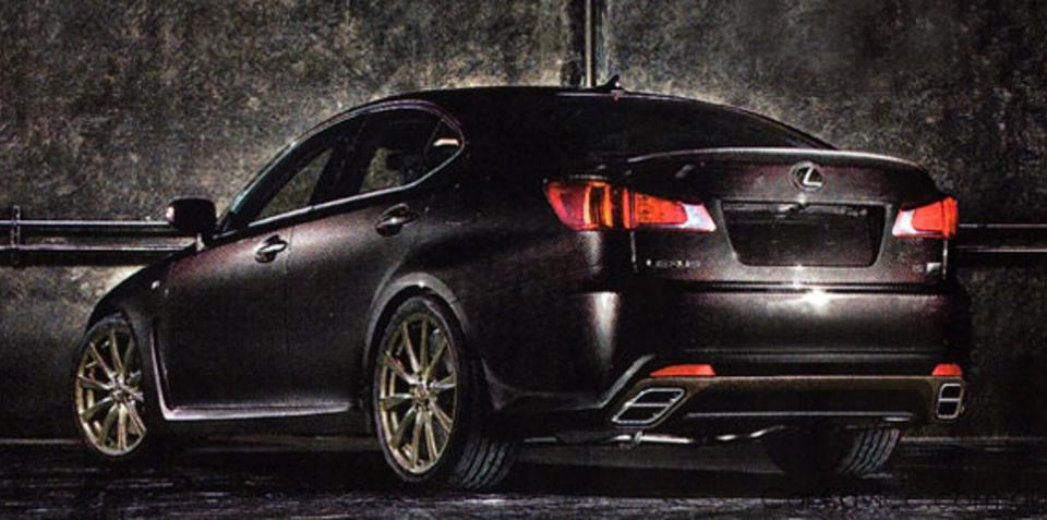 Lexus IS-F Evolution to be launched