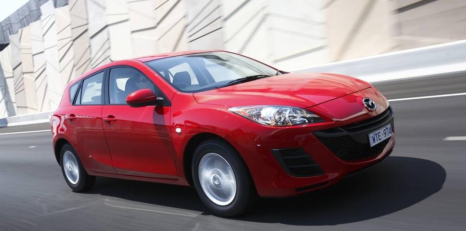 New-gen Mazda3 tops small car sales