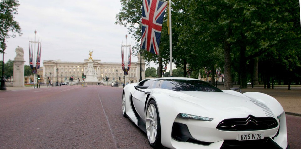GTbyCITROËN tours UK before Festival of Speed