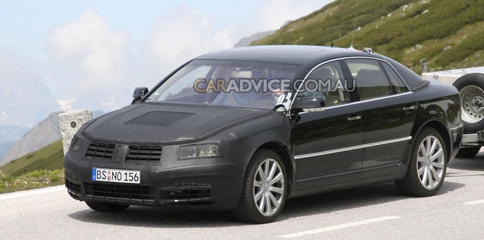 2009 Volkswagen Phaeton facelift spied