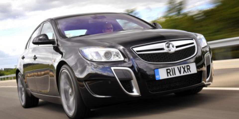 Vauxhall VXR Insignia may be HSV - First Look