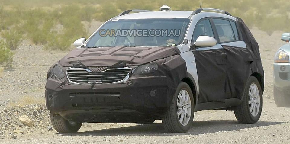 2010 Kia Sportage SUV spied
