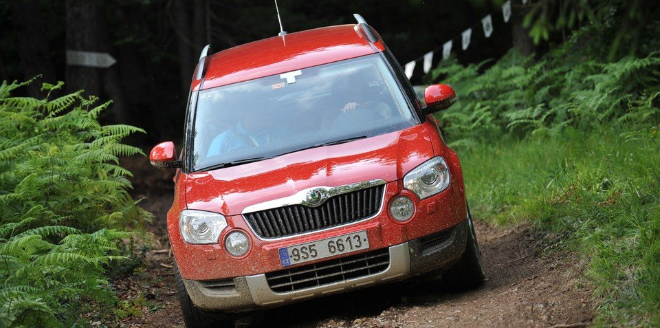 Skoda Yeti UK pricing announced