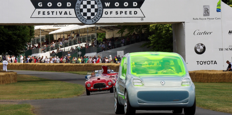 Renault ZE Concept makes Goodwood appearance