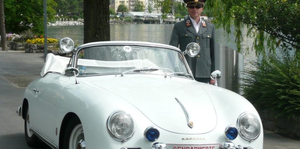 1958 Porsche 356A - Police Car