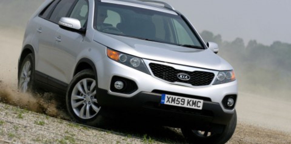 Kia Sorento SUV to preview at Frankfurt