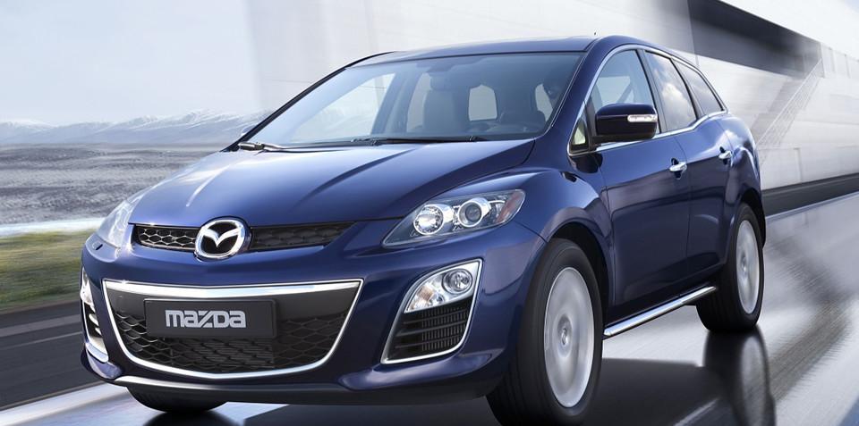 Mazda's revised CX-7 to appear at Frankfurt