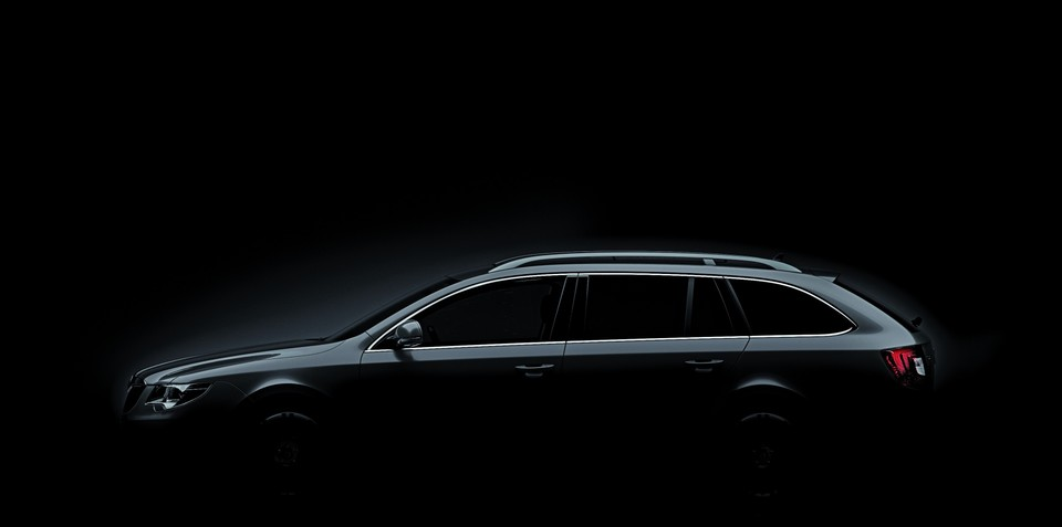 Skoda Superb Estate reveal at Frankfurt