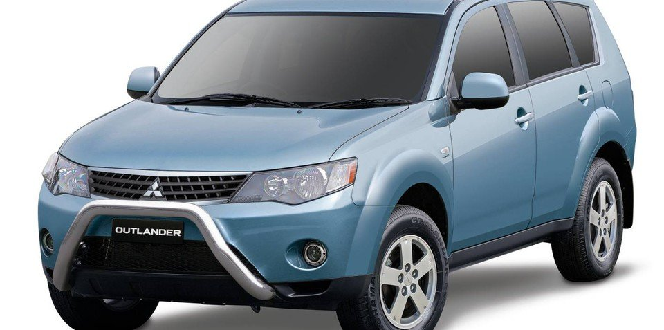 Mitsubishi limited edition Outlander ACTiV
