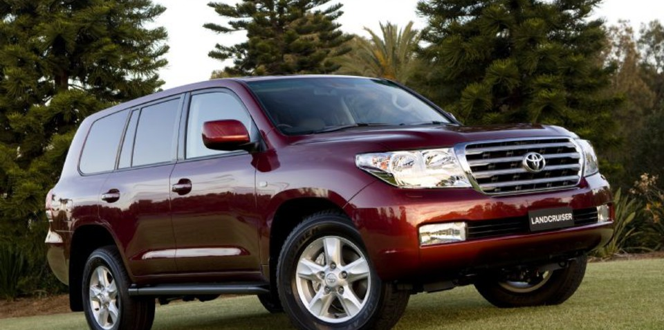 Toyota LandCruiser 200 Series gains more features