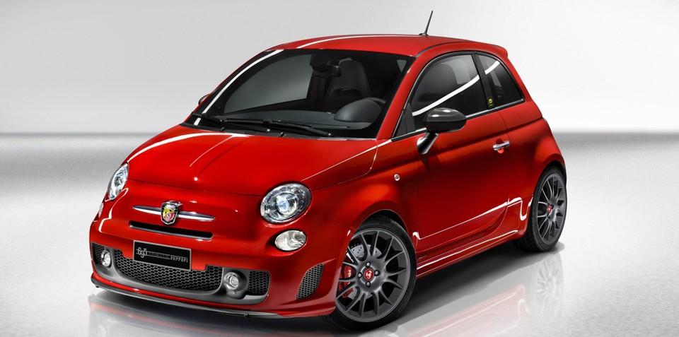 Fiat 500 a hot tribute to Ferrari
