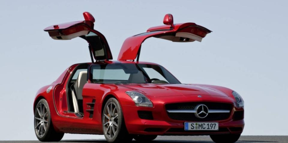 2010 Mercedes-Benz SLS AMG unveiled ahead of Frankfurt