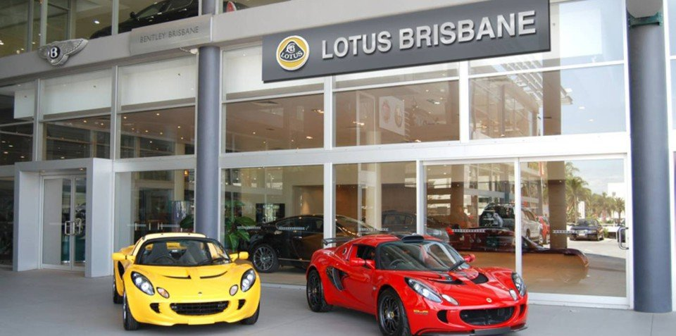 Lotus Cars come to Brisbane