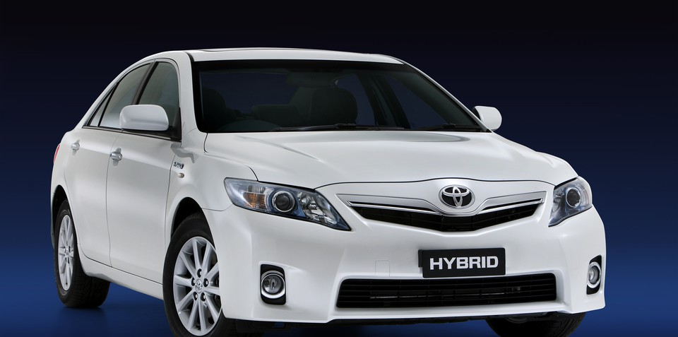 Toyota details Hybrid Camry styling and design