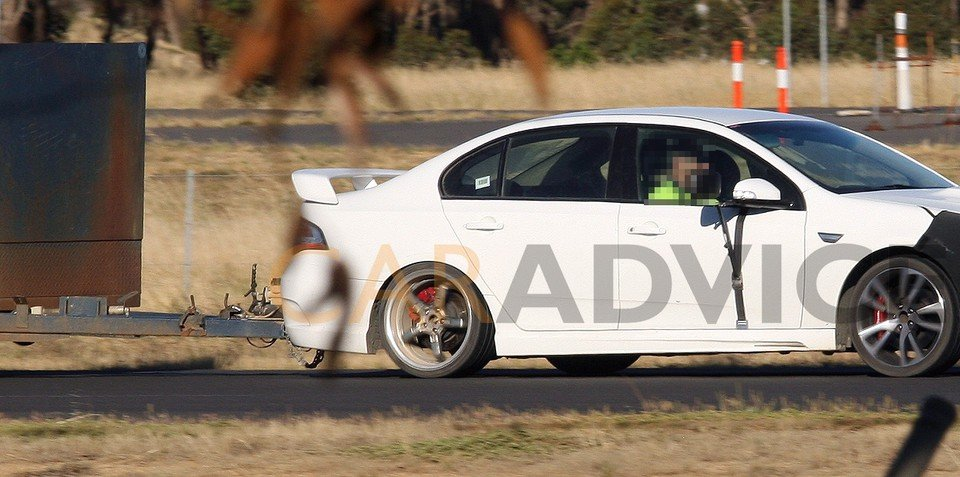 FPV GT with Coyote V8 spotted on video