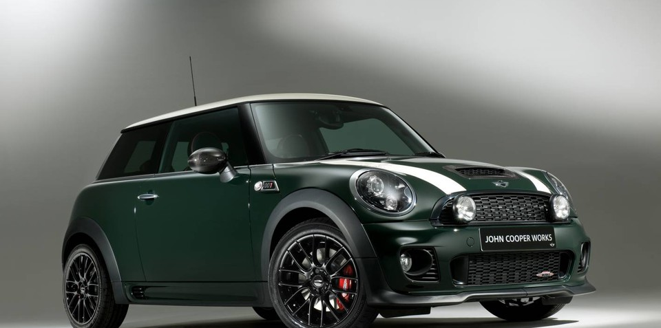 Mini John Cooper Works World Championship 50 special edition released