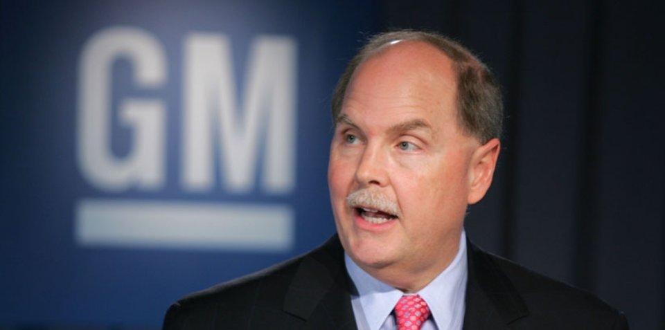 GM CEO Henderson resigns