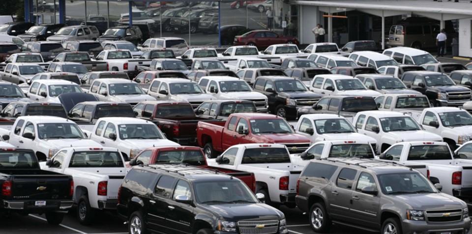 New car sales struggling in Canada, Russia