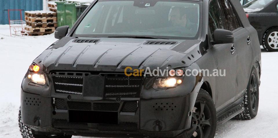 2011 Mercedes-Benz ML-Class spied again