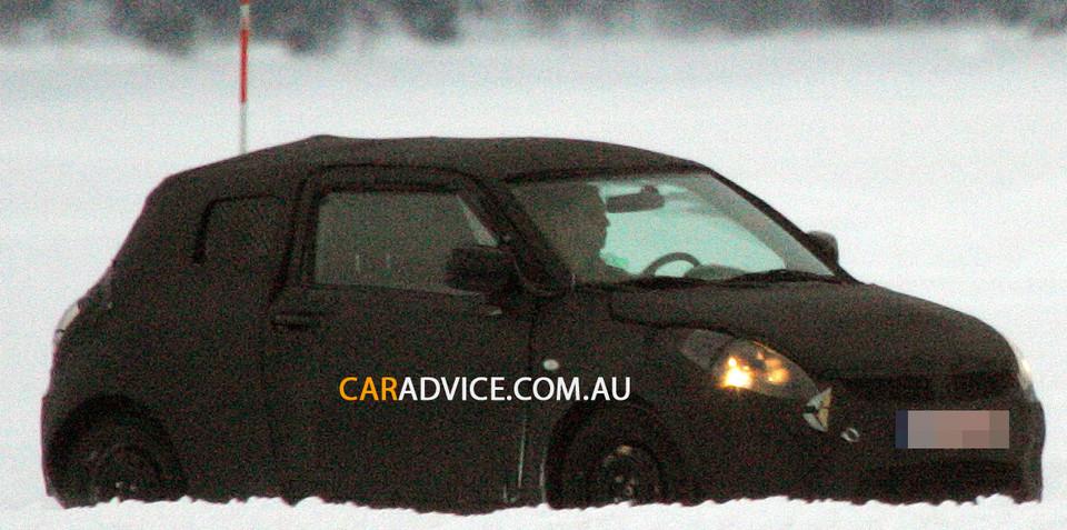 New Suzuki Swift spy photos