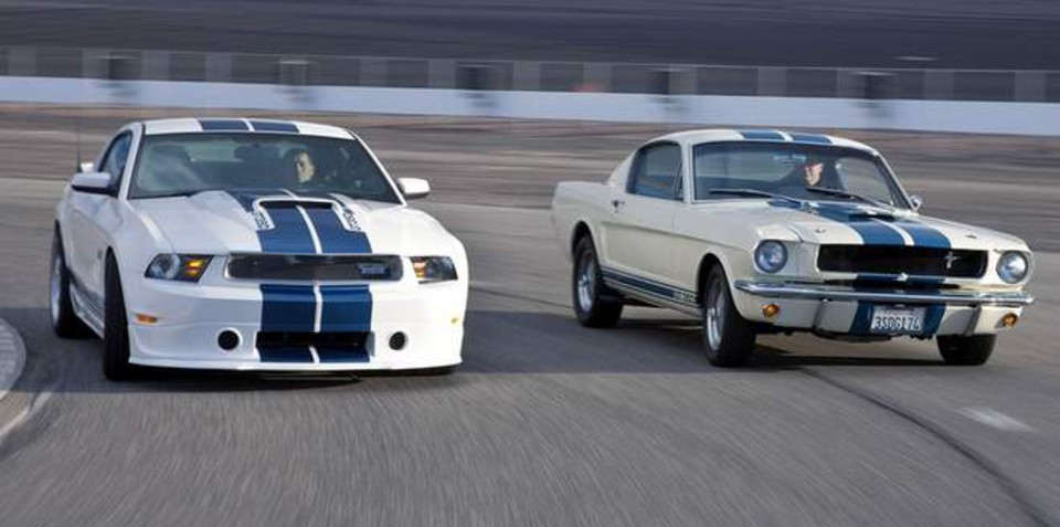 Shelby American marks 45th anniversary with new GT350 Mustang