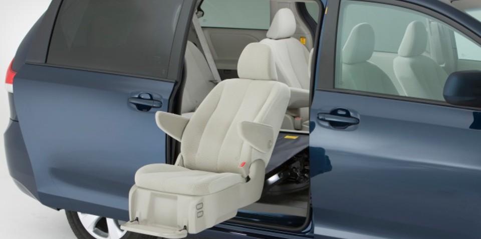 2011 Toyota Sienna gets Auto Access Seat