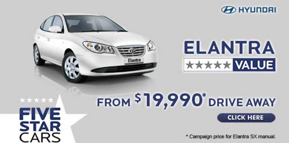 Ad: Hyundai Elantra from $19,990