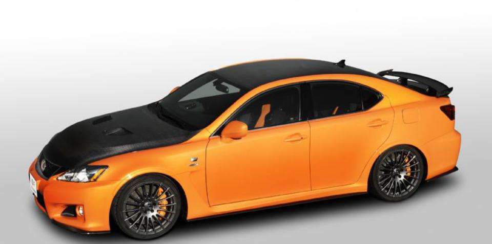 Lexus IS F Circuit Club Sports Concept at Tokyo Auto Salon