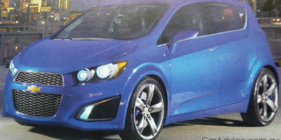 Chevrolet Aveo RS concept images leaked ahead of Detroit