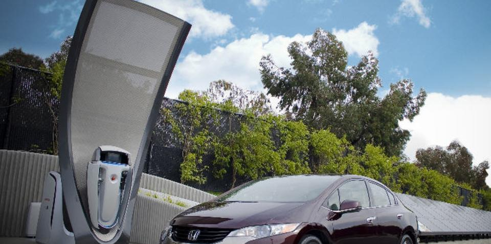 Honda unveils home solar-powered hydrogen refuelling station