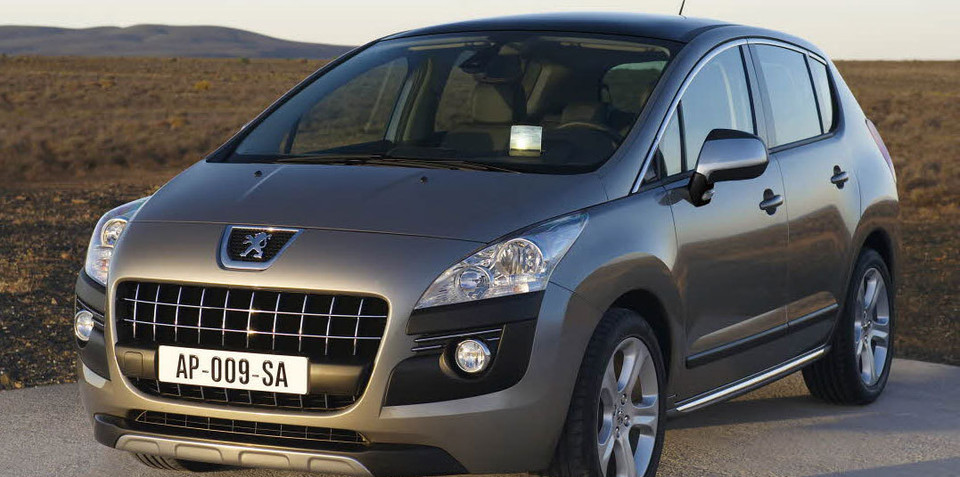 2010 Peugeot 3008 awarded 'What Car?' Car of the Year