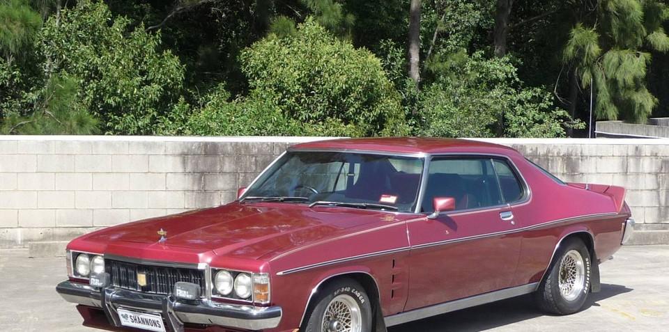 Shannons auctioning 1976 Holden HX LE 'Monaro' coupe