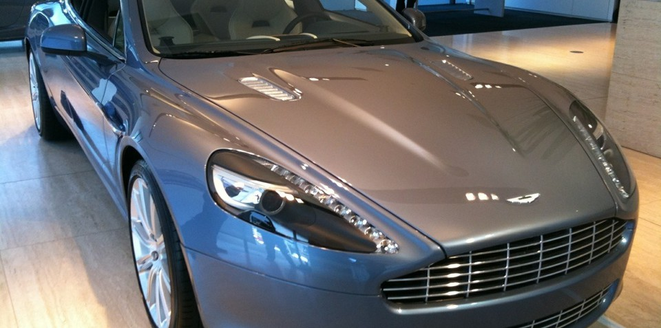 Aston Martin Rapide launched in Australia