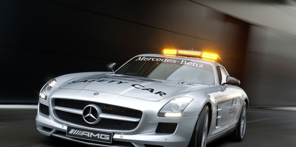 Mercedes-Benz SLS AMG to be F1 safety car
