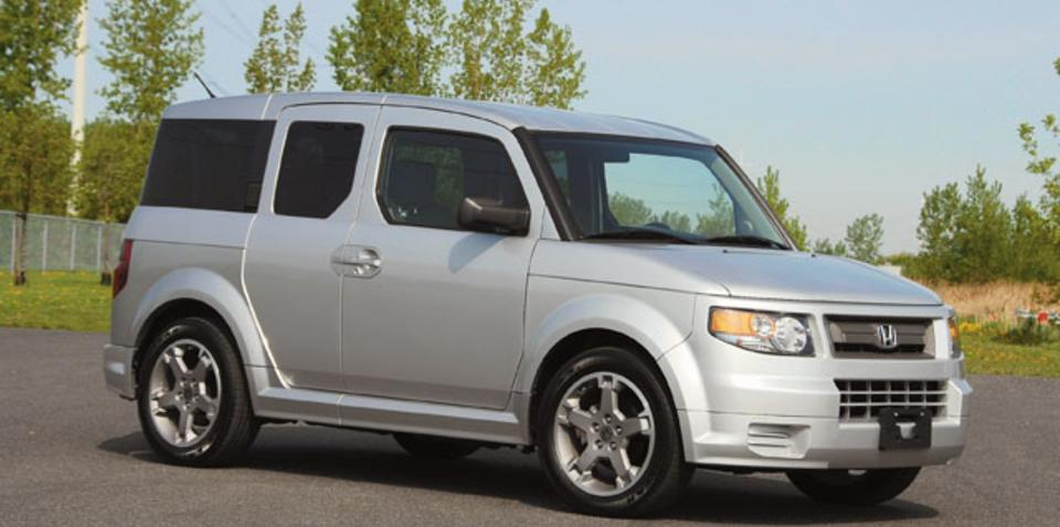 Honda Odyssey, Element models recalled in US for braking fault