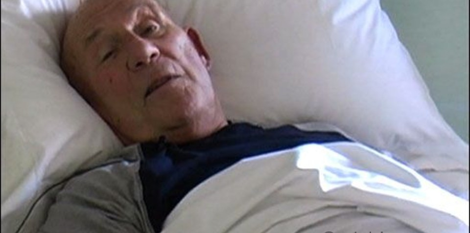 Formula One Legend Stirling Moss recovering after dangerous fall