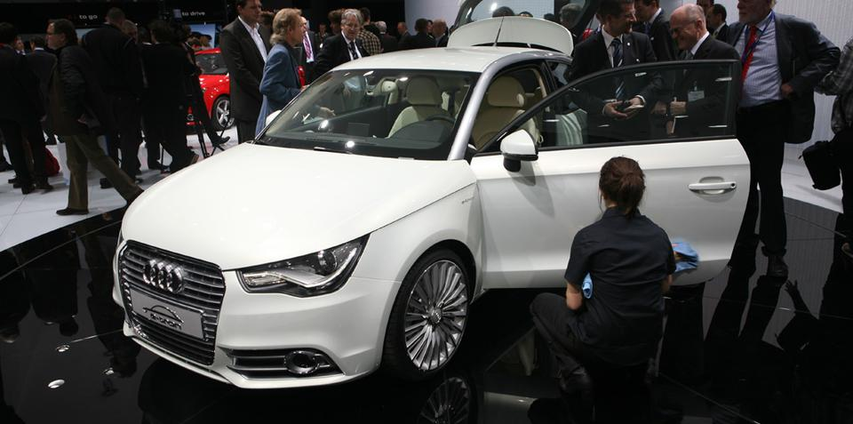 Audi A1 e-tron revealed at Geneva 2010